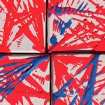 Productive Limitations [Red & Blue] 2013 [Detail 2] - Alison Snowball