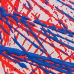 Productive Limitations [Red & Blue] 2013 [Detail] - Alison Snowball